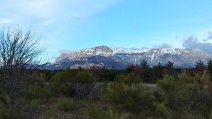 Vue sur la montagne, ferme de Paulianne